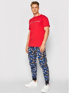 Tommy Hilfiger Tommy Hilfiger Pantaloni da tuta Print UM0UM02154 Blu scuro Regular Fit