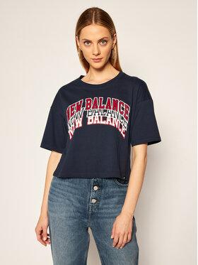 New Balance New Balance T-shirt Athletics Varsity Graphic WT03515 Bleu marine Oversize