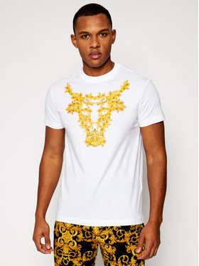 Versace Jeans Couture Versace Jeans Couture T-shirt B3GWA7TG Bijela Regular Fit