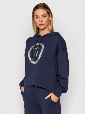 Trussardi Trussardi Sweatshirt 56F00168 Bleu marine Relaxed Fit