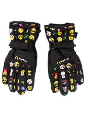 Level Level Skihandschuhe Glove Junior 4152JG.53 Schwarz
