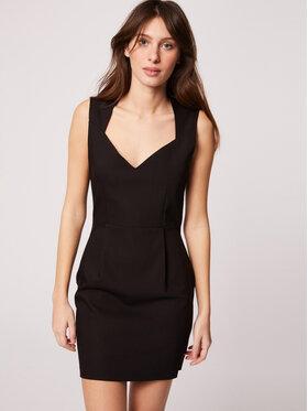 Morgan Morgan Koktejlové šaty 212-REGINA.F Čierna Slim Fit