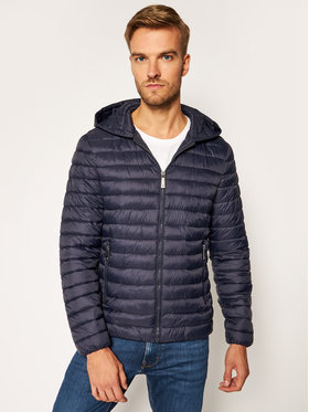 Trussardi Jeans Trussardi Jeans Daunenjacke Matt 52S00516 Dunkelblau Regular Fit
