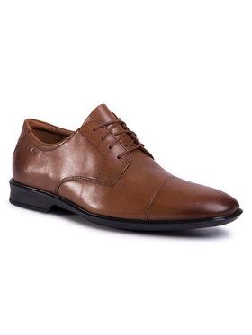 Clarks Clarks Pantofi Bensley Cap 261485267 Maro