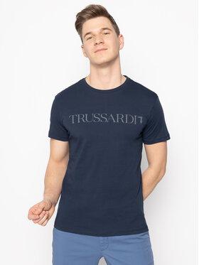 Trussardi Jeans Trussardi Jeans T-Shirt 52T00305 Σκούρο μπλε Regular Fit