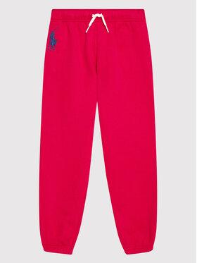 Polo Ralph Lauren Polo Ralph Lauren Spodnie dresowe Boston 313854719004 Różowy Regular Fit