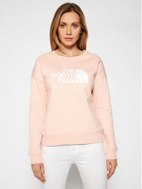 The North Face The North Face Bluză Drew Peak Crew NF0A3S4GUBF1 Roz Regular Fit