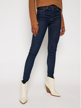 Levi's® Levi's® Džinsai 720™ 52797-0176 Tamsiai mėlyna Super Skinny Fit