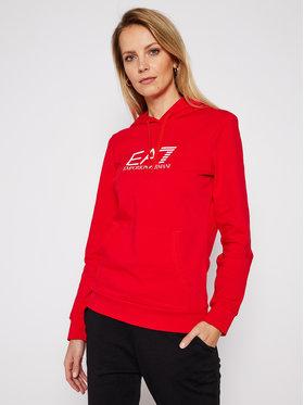 EA7 Emporio Armani EA7 Emporio Armani Mikina 8NTM40 TJ31Z 1451 Červená Regular Fit