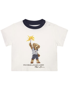 Polo Ralph Lauren Polo Ralph Lauren Marškinėliai Summer II 320785958001 Balta Regular Fit