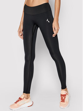 Carpatree Carpatree Leggings Spark CPW-LEG-SPARK-BL Nero Slim Fit