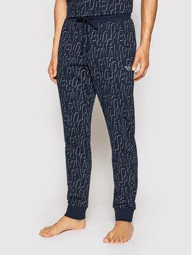 Emporio Armani Underwear Emporio Armani Underwear Teplákové nohavice 111690 1P566 15735 Tmavomodrá Regular Fit
