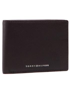 Tommy Hilfiger Tommy Hilfiger Veľká pánska peňaženka Th Metro Cc And Coin AM0AM07292 Hnedá