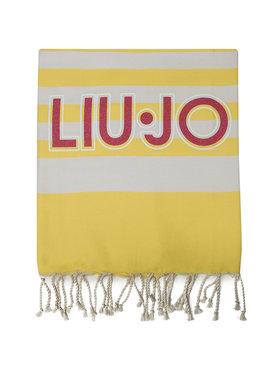 Liu Jo Liu Jo Ręcznik Telo Rigato V19113 T0300 Żółty