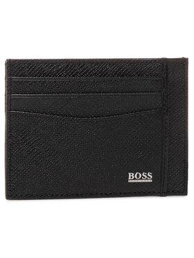 Boss Boss Kreditinių kortelių dėklas Signature S Card C 50430656 Juoda