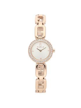 Furla Furla Zegarek Arco Chain WW00015-K21000-1G000-1-008-20-CN-W Złoty