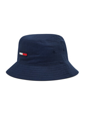 Tommy Jeans Tommy Jeans Bucket kalap Flag AW0AW10269 Sötétkék