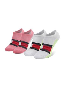 Tommy Hilfiger Tommy Hilfiger Set di 2 paia di calzini corti da bambini 100002327 Rosa