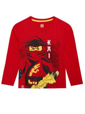 LEGO Wear LEGO Wear Bluză 12010028 Roșu Regular Fit