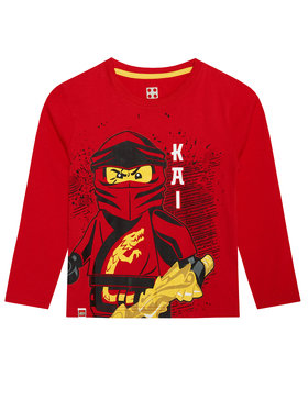 LEGO Wear LEGO Wear Chemisier 12010028 Rouge Regular Fit
