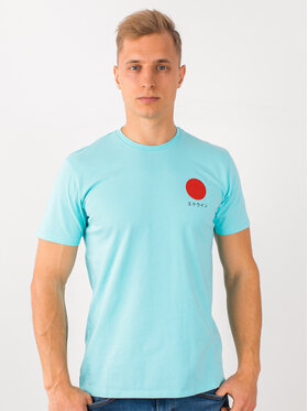 Edwin Edwin T-shirt Japanese Sun Ts I025020 TF10J94 AGB67 Bleu Regular Fit
