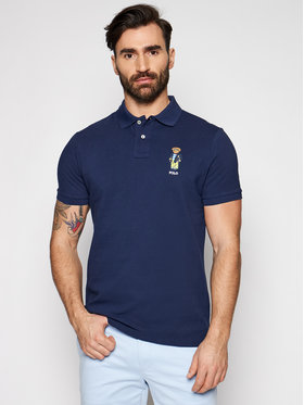 Polo Ralph Lauren Polo Ralph Lauren Polohemd Ssl 710835783001 Dunkelblau Slim Fit