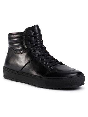 Gino Rossi Gino Rossi Šnurovacia obuv MI08-C798-800-02 Čierna