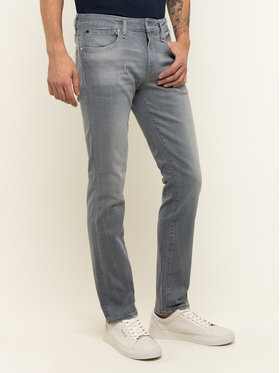 Guess Guess Jeansy Skinny Fit M01AN2 D3YF1 Szary Skinny Fit