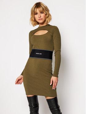 Guess Guess Плетена рокля Atifa W0BK09 K86Z1 Зелен Slim Fit