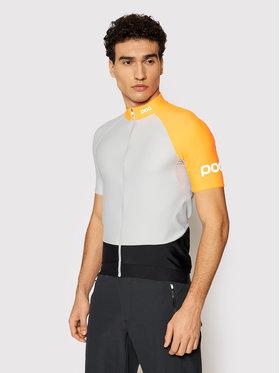 POC POC Koszulka rowerowa Essential Road Mid 58132 Szary Slim Fit