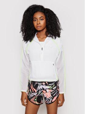 New Balance New Balance Bluza techniczna WJ01268 Biały Relaxed Fit
