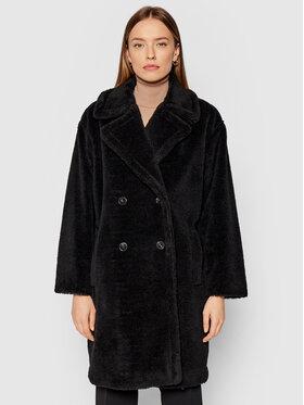 Marella Marella Báránybőr kabát Perak 39060118 Fekete Straight Fit