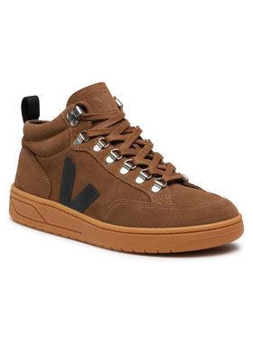 Veja Veja Sneakersy Roraima Suede QR031642B Brązowy