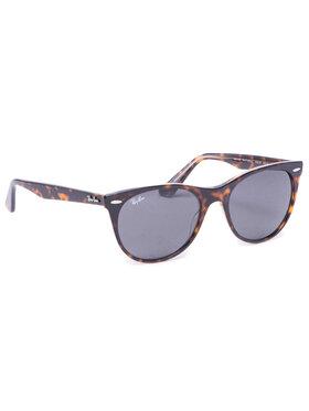 Ray-Ban Ray-Ban Okulary przeciwsłoneczne Wayfarer II 0RB2185 1292B1 Brązowy
