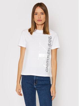 Calvin Klein Jeans Calvin Klein Jeans Футболка J20J217568 Білий Regular Fit