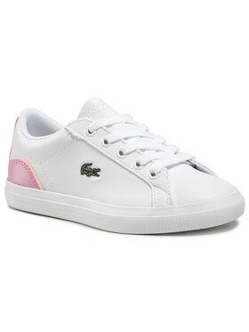 Lacoste Lacoste Sneakersy Lerond 0120 1 Cuc 7-40CUC00131Y9 Bílá