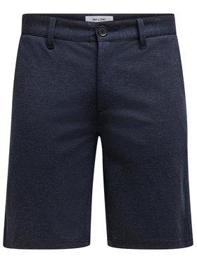 Only & Sons Only & Sons Short en tissu Mark 22018669 Bleu Regular Fit