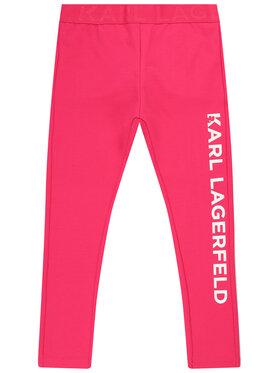 KARL LAGERFELD KARL LAGERFELD Leggings Z14111 M Rose Slim Fit