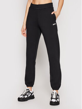 MSGM MSGM Pantalon jogging 3041MDP64 217299 Noir Regular Fit