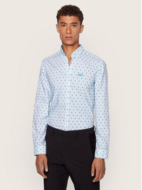 Boss Boss Košile Biado 50437681 Modrá Regular Fit