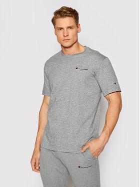 Champion Champion T-shirt Small Script Logo 215940 Siva Comfort Fit