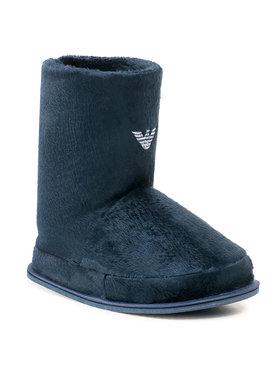Emporio Armani Emporio Armani Pantofole XJNW01 XD211 R776 Blu scuro