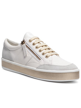 Geox Geox Sneakersy D Leelu' E D94FFE 08522 C1000 Biela