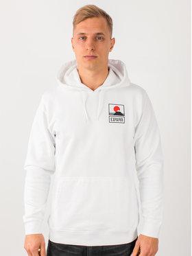 Edwin Edwin Sweatshirt Sunset On Mt Fuji I025851 TG0971P 267 Blanc Regular Fit