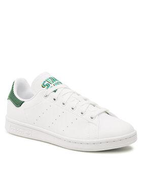 adidas adidas Обувки Stan Smith J GZ7366 Бял