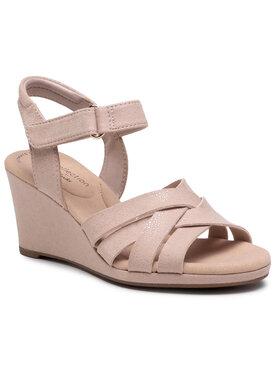 Clarks Clarks Sandále Lafley Leah 261577514 Ružová