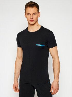 Emporio Armani Underwear Emporio Armani Underwear Tricou 111035 1P729 00020 Negru Slim Fit