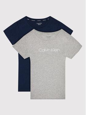 Calvin Klein Calvin Klein Комплект 2 тишъртки 2pk G80G800497 Цветен Regular Fit