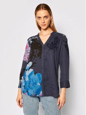 Desigual Desigual Camicia Anais 20WWCW75 Blu scuro Regular Fit