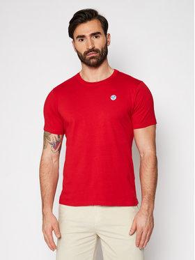 North Sails North Sails T-Shirt Logo 692530 Czerwony Regular Fit